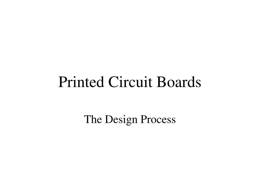 printed circuit boards l.