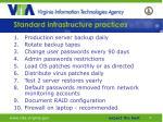 standard infrastructure practices50