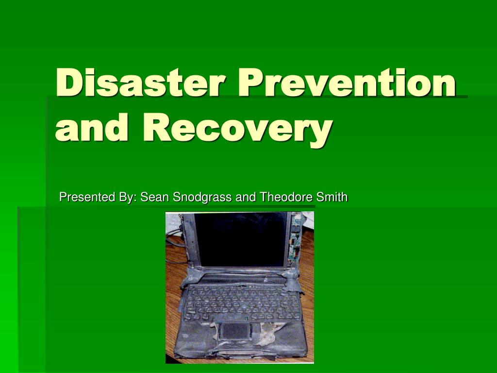 disaster prevention and recovery l.
