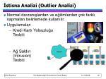 stisna analizi outlier analizi
