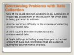 overcoming problems with data collection