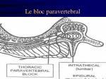 le bloc paravertebral6