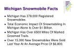 michigan snowmobile facts
