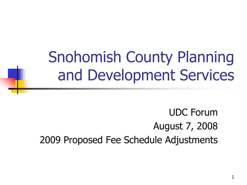snohomish county planning and development services l.
