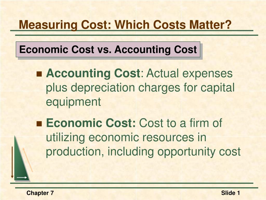 measuring cost which costs matter l.