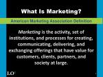 what is marketing5