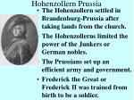 hohenzollern prussia
