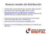 nuevos canales de distribuci n