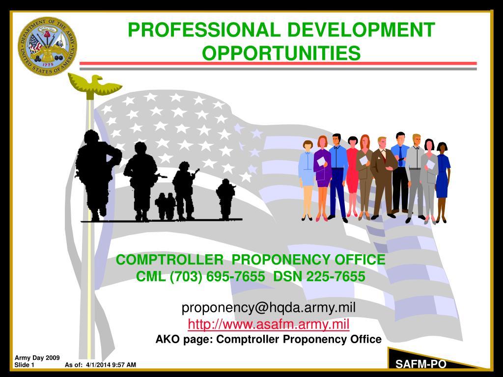 professional development opportunities l.