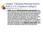 chapter 3 building planning section r301 2 1 4 1 exposure category