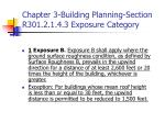 chapter 3 building planning section r301 2 1 4 3 exposure category43