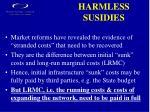 harmless susidies