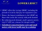 lower lrmc