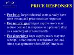 price responses