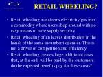 retail wheeling