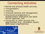 connecting activities