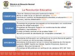 la revoluci n educativa