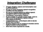 integration challenges
