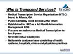 who is transcend services