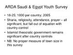 arda saudi egypt youth survey