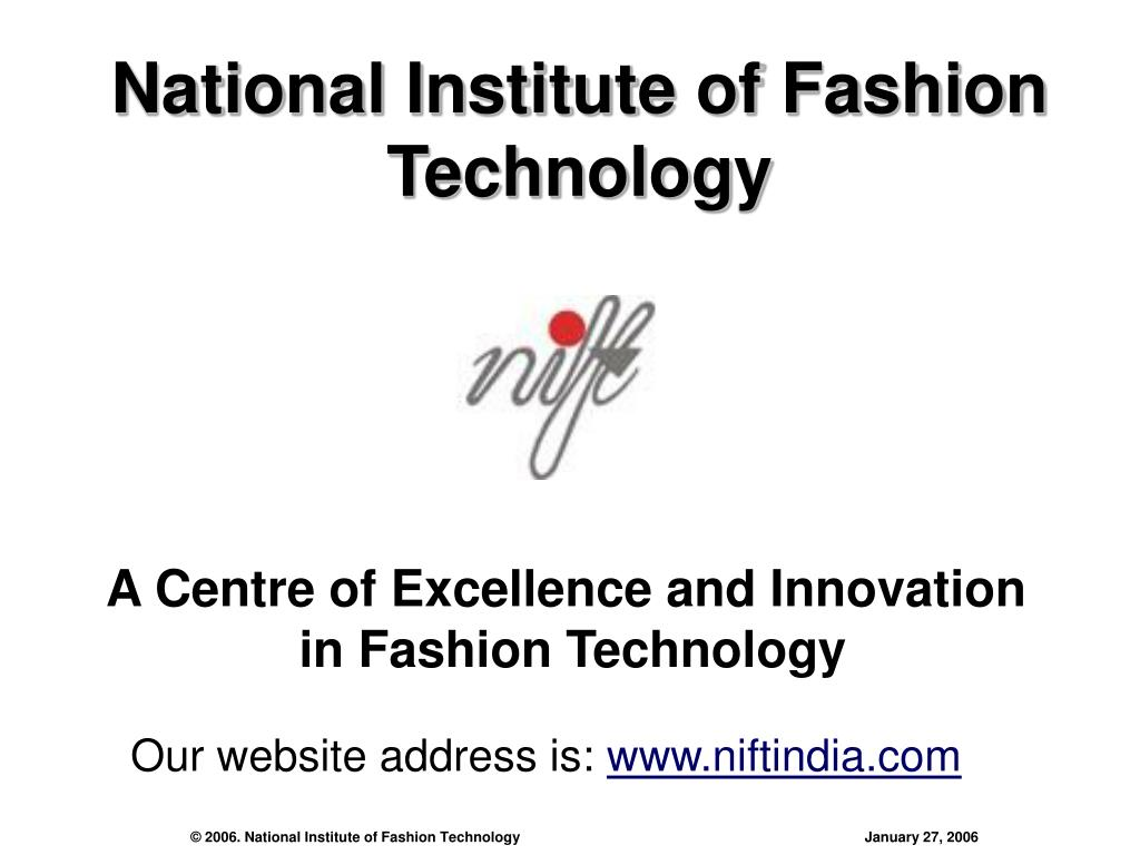 national institute of fashion technology l.