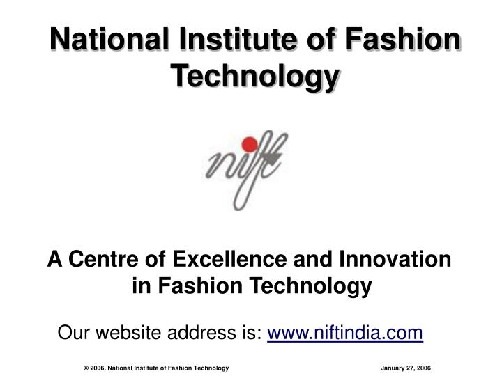 national institute of fashion technology n.