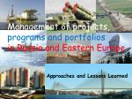 management of projects programs and portfolios in russia and eastern europe