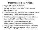 pharmacological actions12