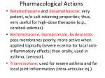 pharmacological actions18