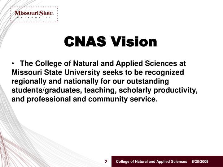 Cnas vision
