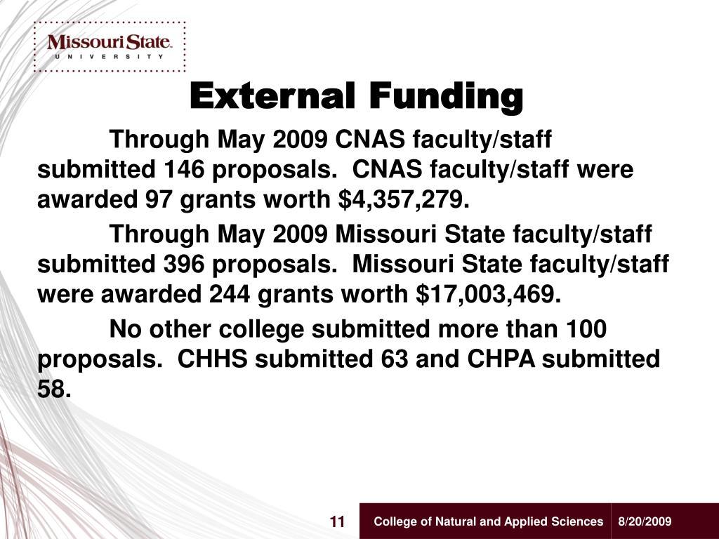 External Funding
