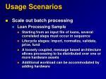 usage scenarios22