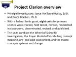 project clarion overview