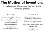 the mother of invention involving upper elementary students in the invention process