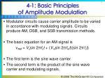 4 1 basic principles of amplitude modulation