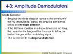 4 3 amplitude demodulators31