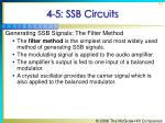 4 5 ssb circuits