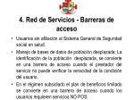 4 red de servicios barreras de acceso