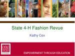 state 4 h fashion revue