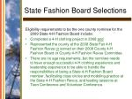 state fashion board selections25