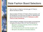 state fashion board selections26