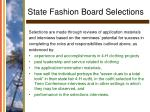 state fashion board selections27