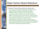 state fashion board selections28