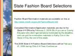 state fashion board selections29