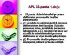 apl 33 panta 1 da u
