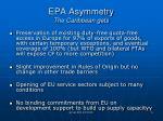 epa asymmetry the caribbean gets