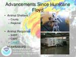 advancements since hurricane floyd3