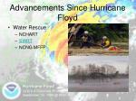 advancements since hurricane floyd4