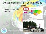 advancements since hurricane floyd6