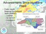 advancements since hurricane floyd8